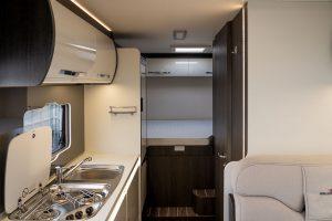 Campervan interior layout