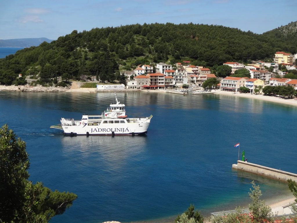 Ferry information for your trip to Croatia.